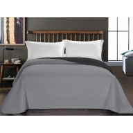 BEDS AXEL CHARCOAL+SILVER