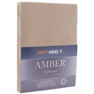 FITTED AMBER CAPPUCCINO 220-240x200+30
