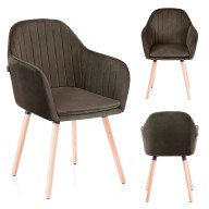 CHAIR HOM LACELLE BROWN