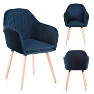 CHAIR HOM LACELLE NAVY