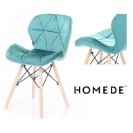 CHAIR HOM SILLA V TURQUOISE