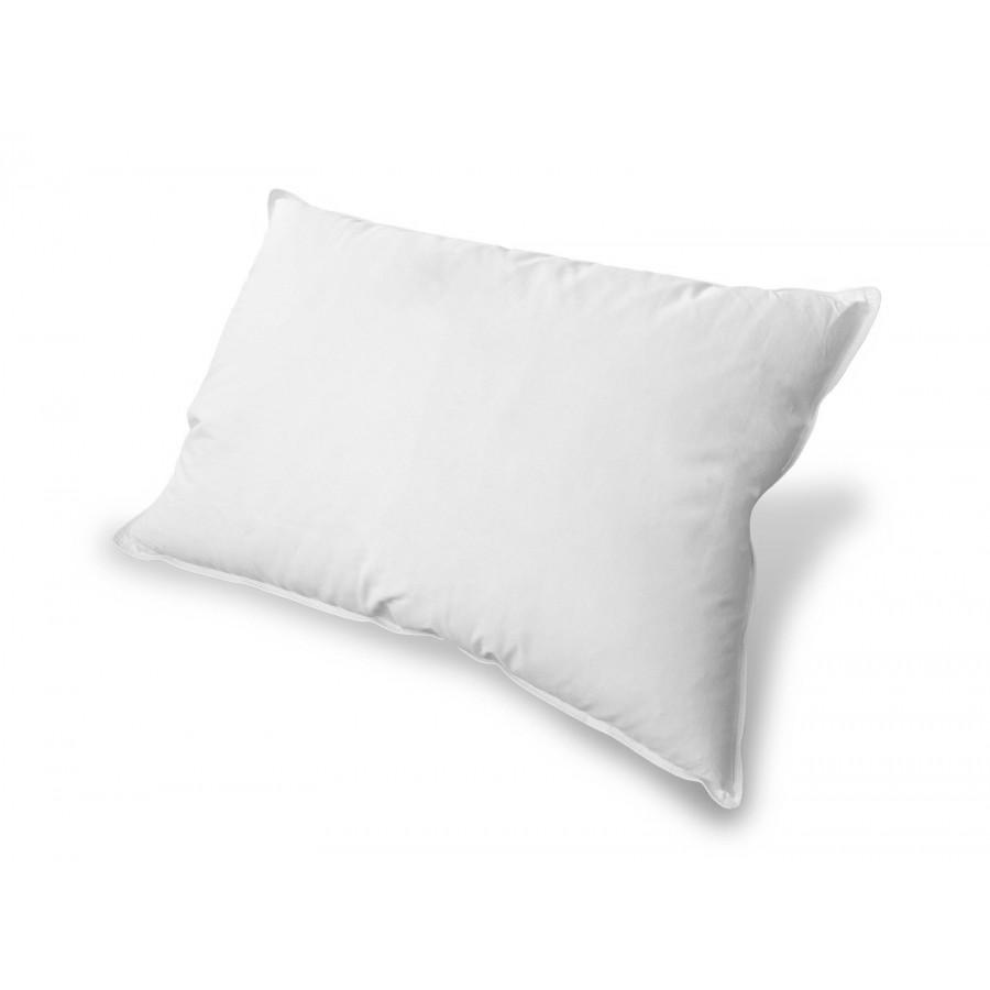 Poduszka Standard puch i pierze 50x50 niska biała