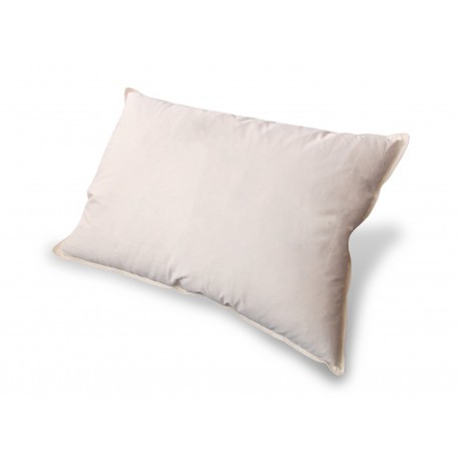 Poduszka Standard puch i pierze 50x60 wysoka ecru
