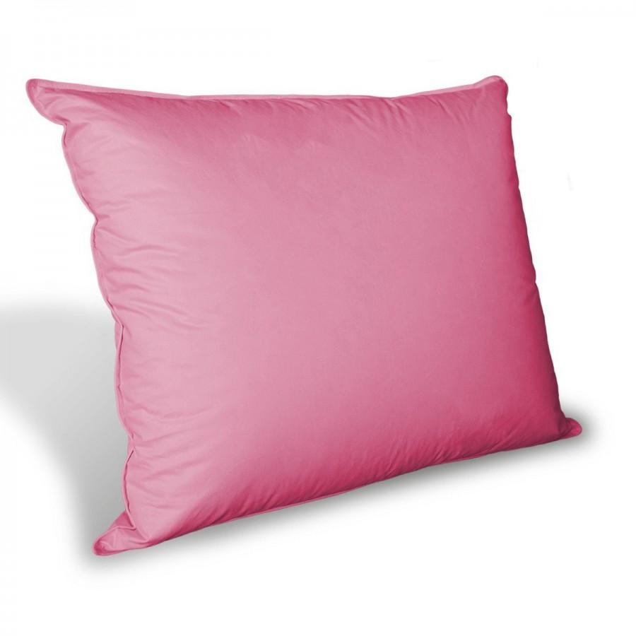 Poduszka Półpuchowa Puch 60% Silver Syberyjski 40x60 wysoka róż